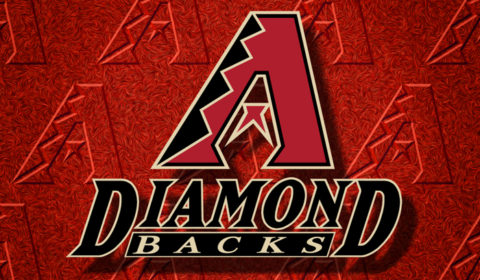 RWA Sportswear - Arizona Diamondbacks MLB Big Logo Drawstring Backpack