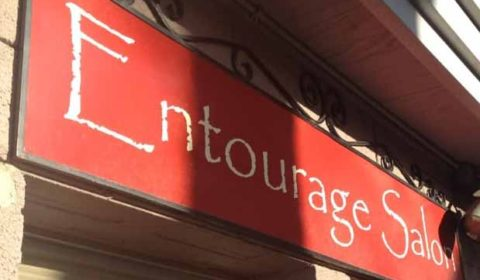 Entourage Salon Sign