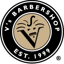 Vs Barbershop Logo