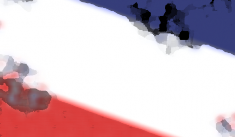 Smoldering French Flag